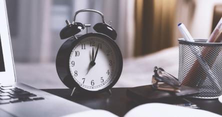 Trotz Zeitumstellung produktiv sein!