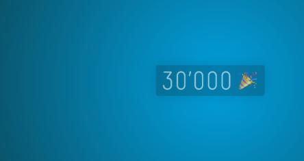 Starker Start in 2020: Wir freuen uns über 30'000 Kunden