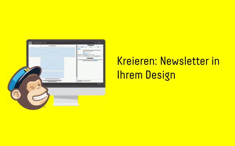 Mailchimp design