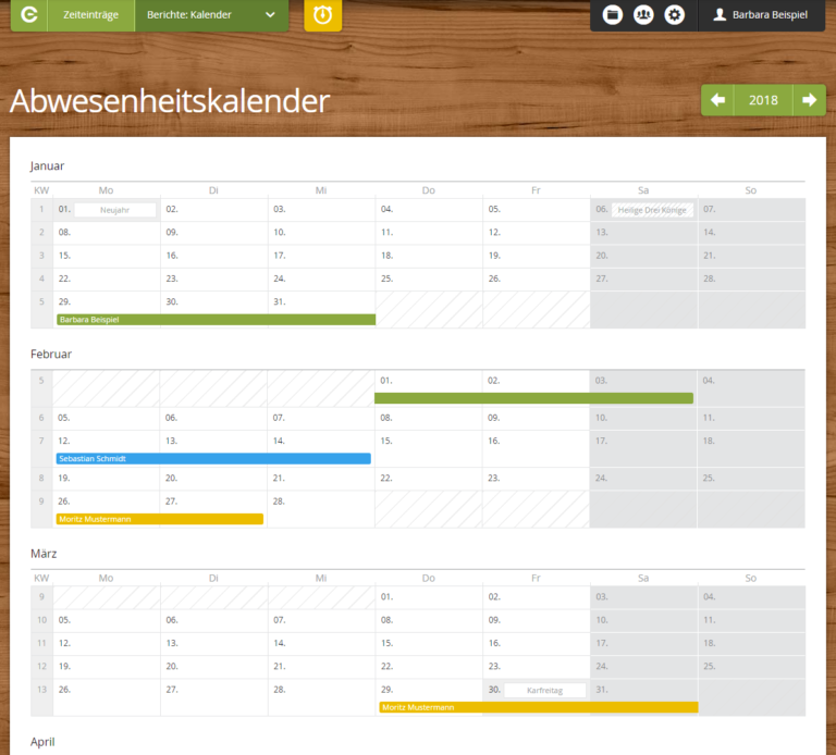 Kalender DE