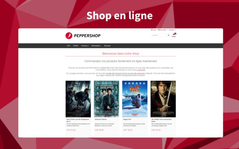 Webshop fr