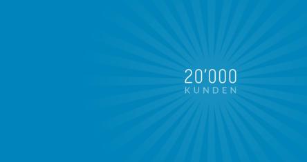 Über 20'000 Kunden arbeiten mit bexio!